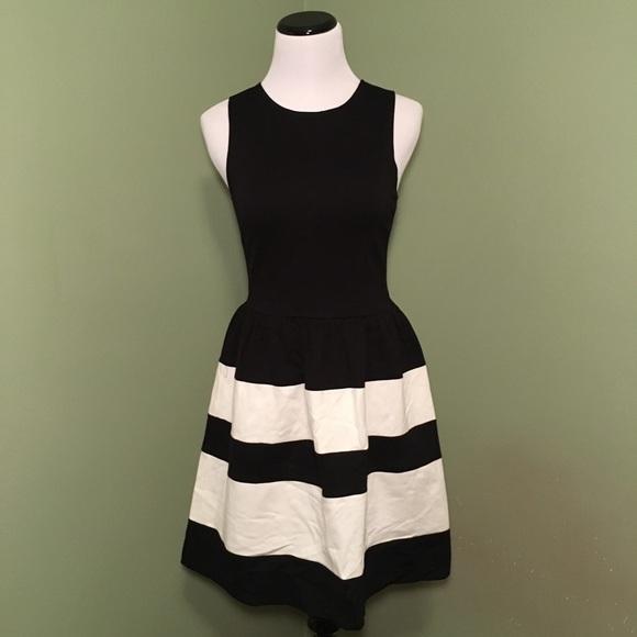 Nordstrom Dresses Rack Black And White Striped Dress Poshmark